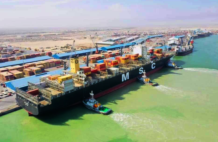 The directives of the Minister of Transport and the follow-up and supervision of the director of the General Company for Iraqi Ports